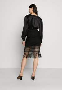 Guess - EDITH SKIRT - Blyantnederdel / pencil skirts - jet black - 2