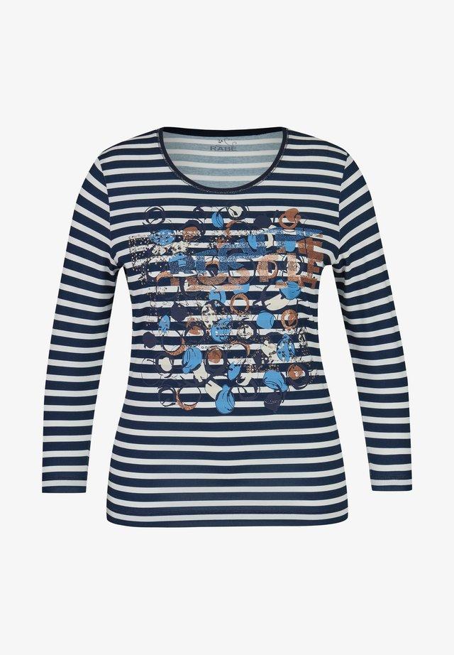 TANIA - Långärmad tröja - marine