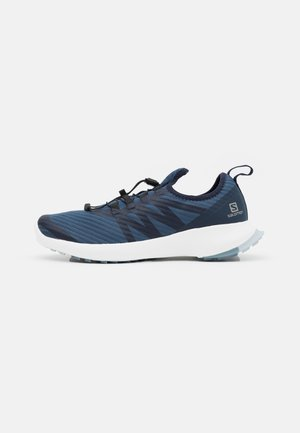 SENSE FLOW 2 - Trail running shoes - dark denim/white/ashley blue