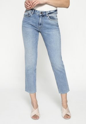 HOLLY  - Straight leg jeans - light blue