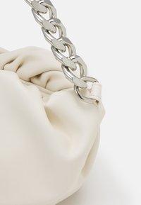 Pieces - PCABI SHOULDER BAG - Across body bag - cloud dancer/silver-coloured - 3