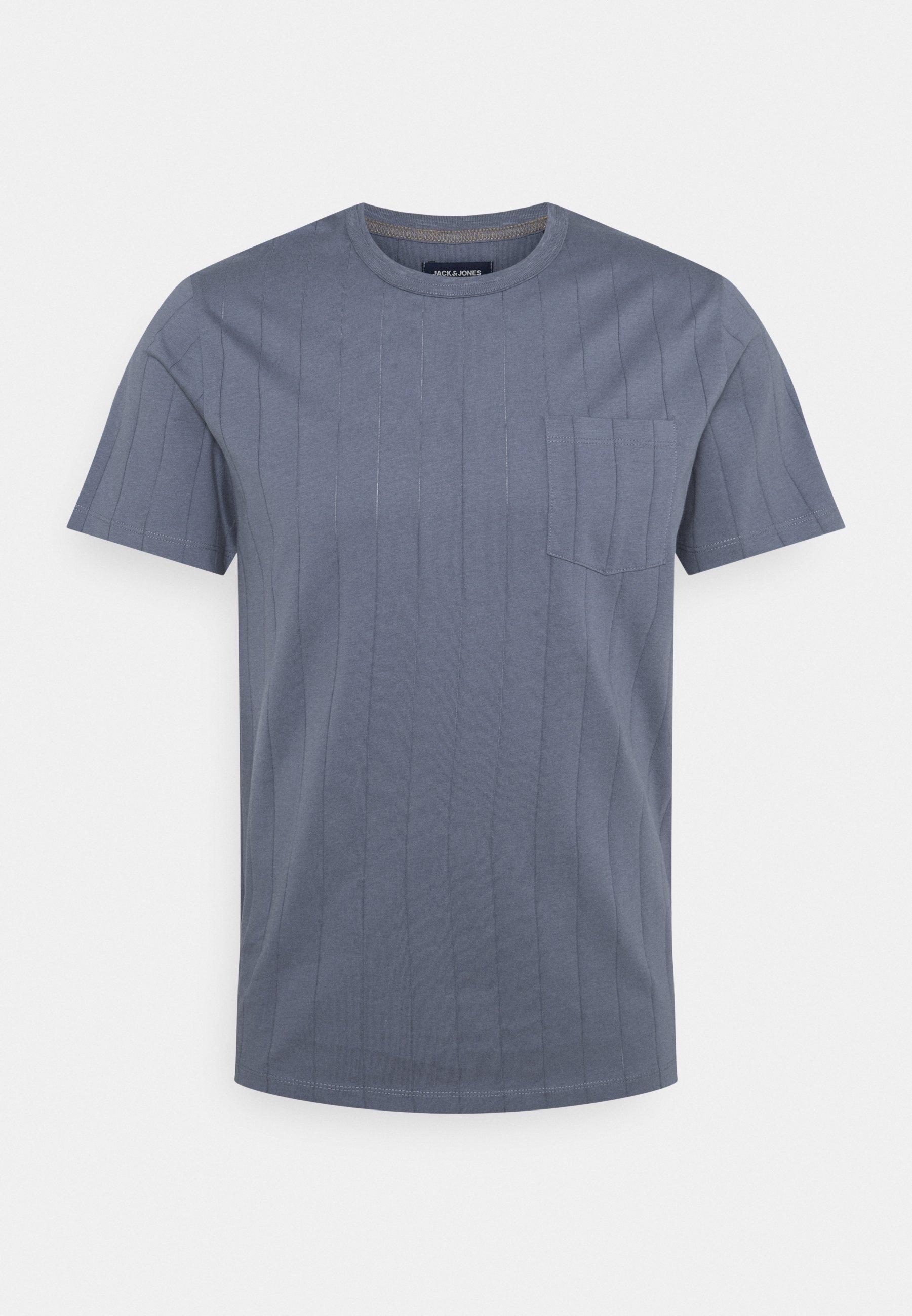 Men JPRBLUSILVER TEE CREW NECK - Print T-shirt
