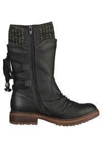 Rieker - Stivali con i lacci - black/grey - 3