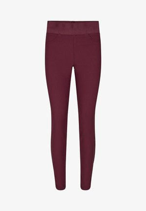 Trousers - weinrot
