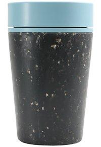 Circular&Co - KAFFEEBECHER TO GO MIT DECKEL - 227ml - Muut asusteet - schwarz / blau - 1