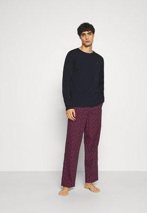 PANT PRINT SET - Pyjama set - blue