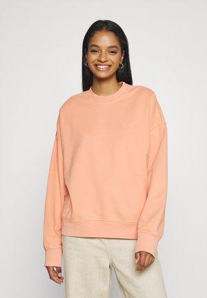 Sweatshirt - peach bloom