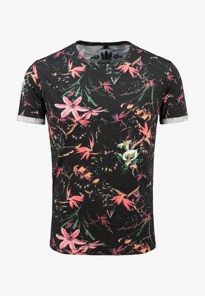 MT JUNGLES  - Print T-shirt - black
