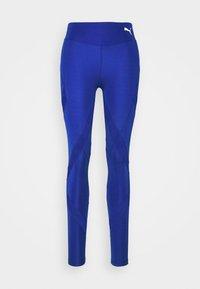 Puma - PAMELA REIF X PUMA MID WAIST LEGGINGS - Leggings - mazerine blue - 6