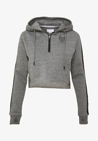 Pink Soda - BILLOW ZIP - Hoodie - mid grey grindle - 4