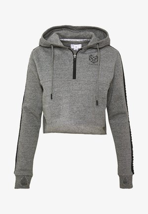 BILLOW ZIP - Kapuzenpullover - mid grey grindle