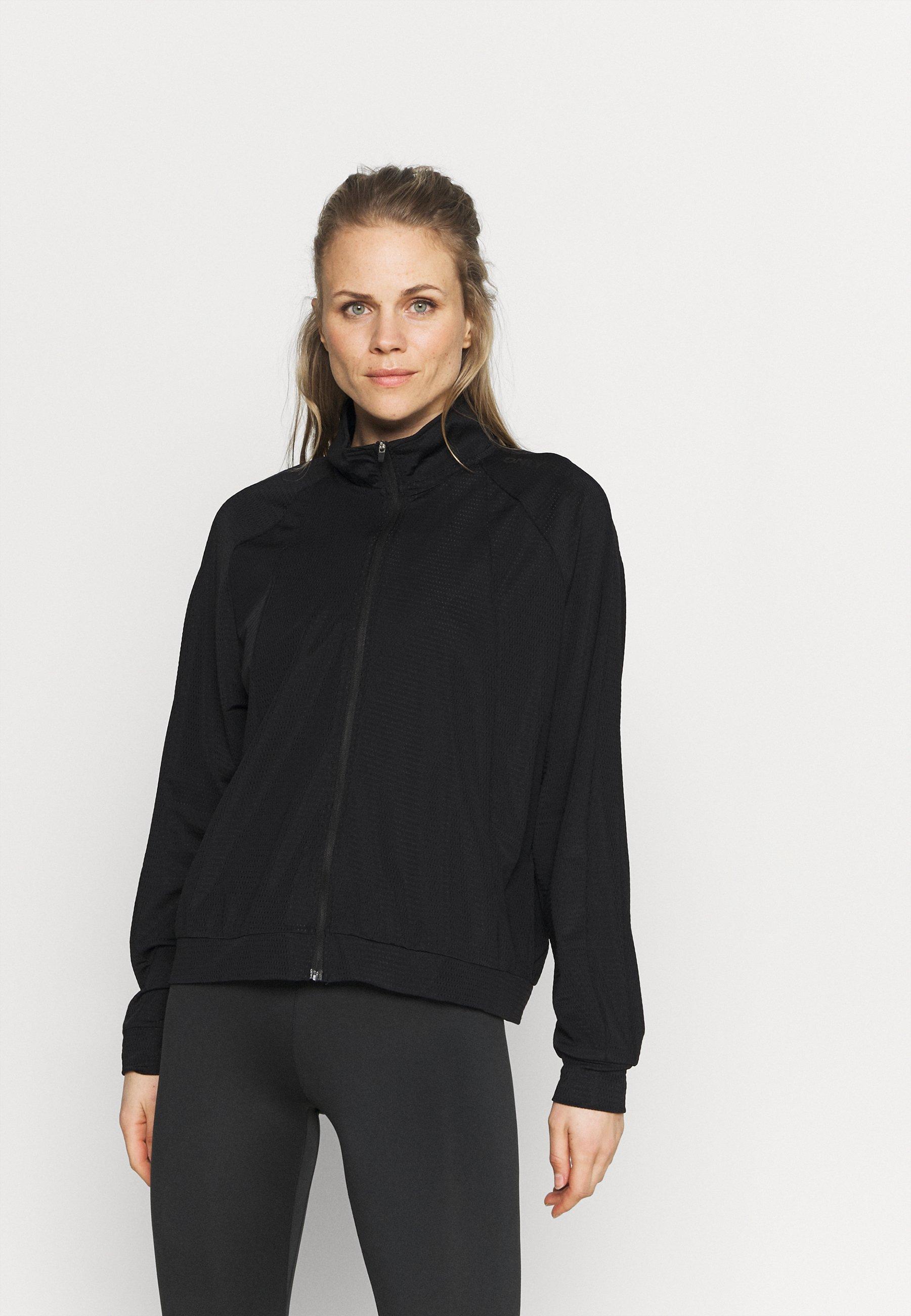 Women ONPATIFA ZIP TRAIN CURVY - Training jacket