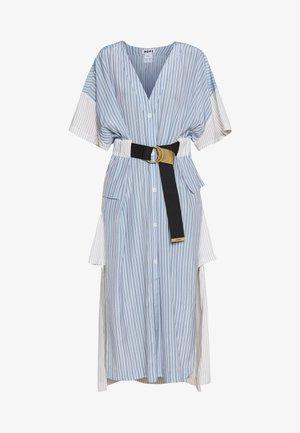 FLOW KAFTAN - Robe chemise - blue