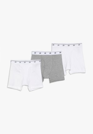 BASIC 3 PACK - Pants - white