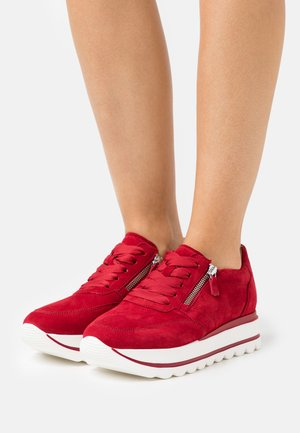 Sneakers laag - rubin