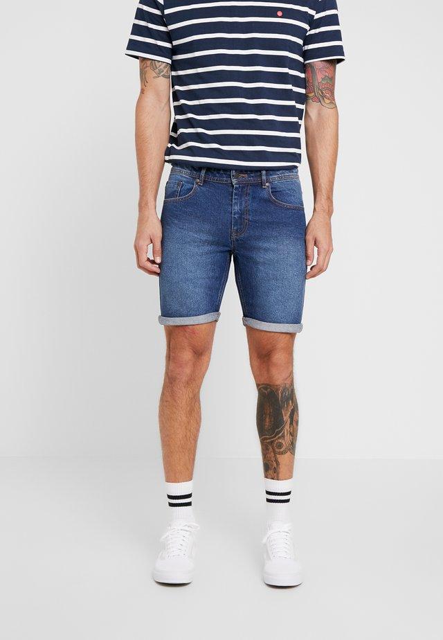 MR. ORANGE - Shorts di jeans - dark blue