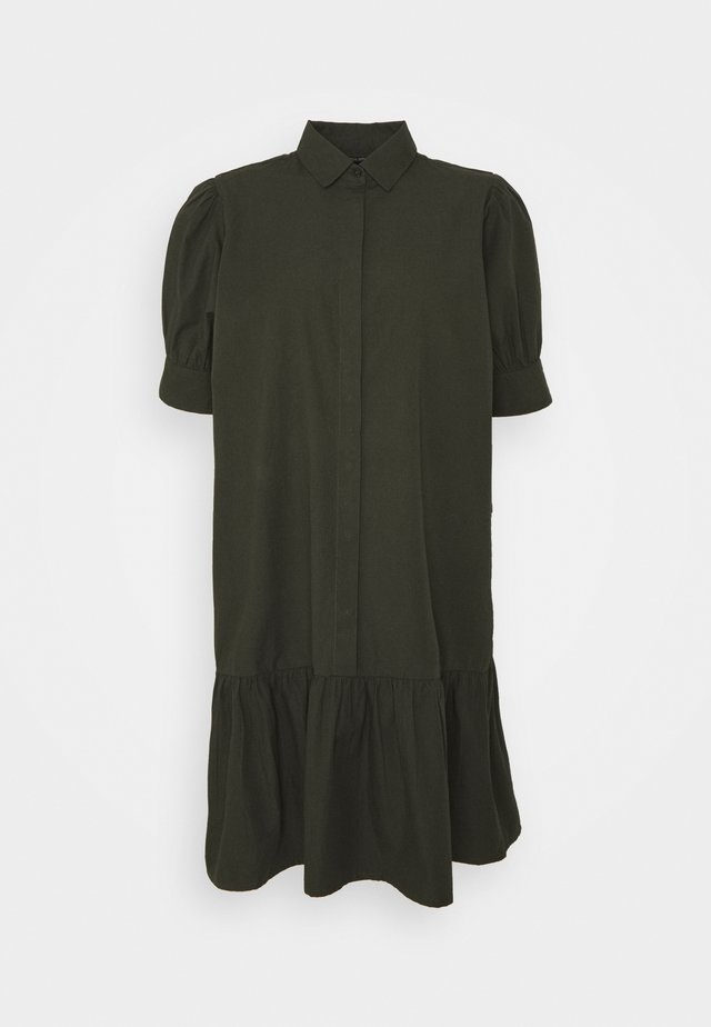 FREYIE ALISE SHIRTDRESS - Shirt dress - green night