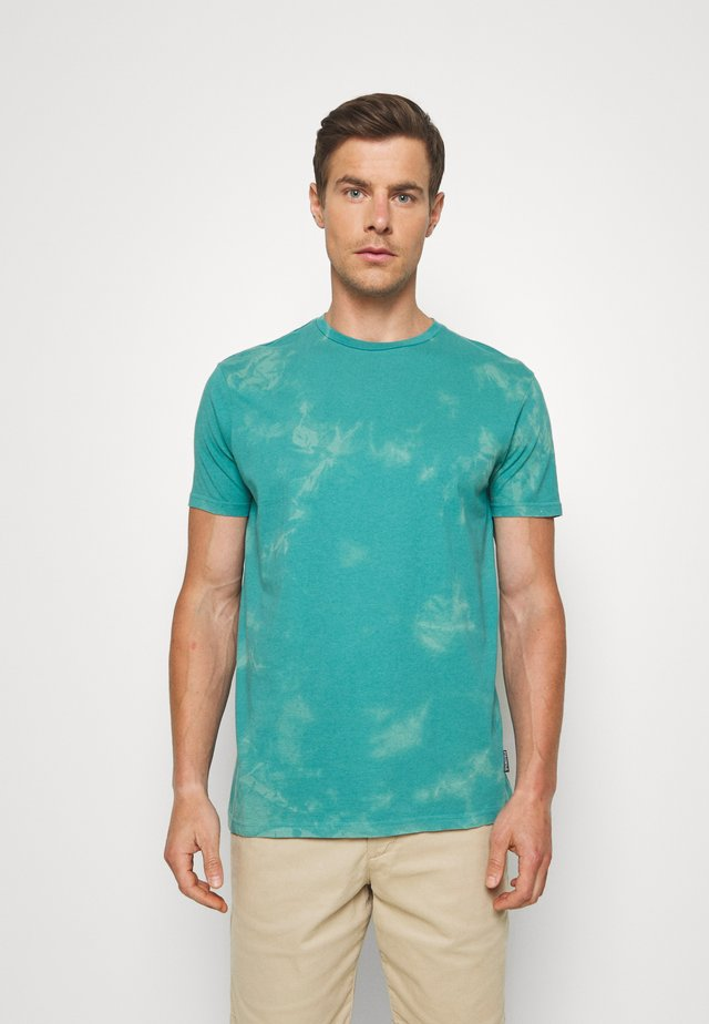TIE OZONE WASH - T-shirt print - blues