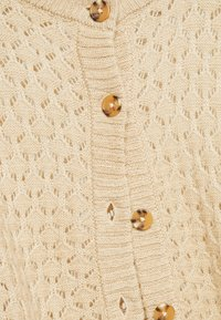 Monki - MARIA CARDIGAN - Kardigan - beige medium dusty - 5