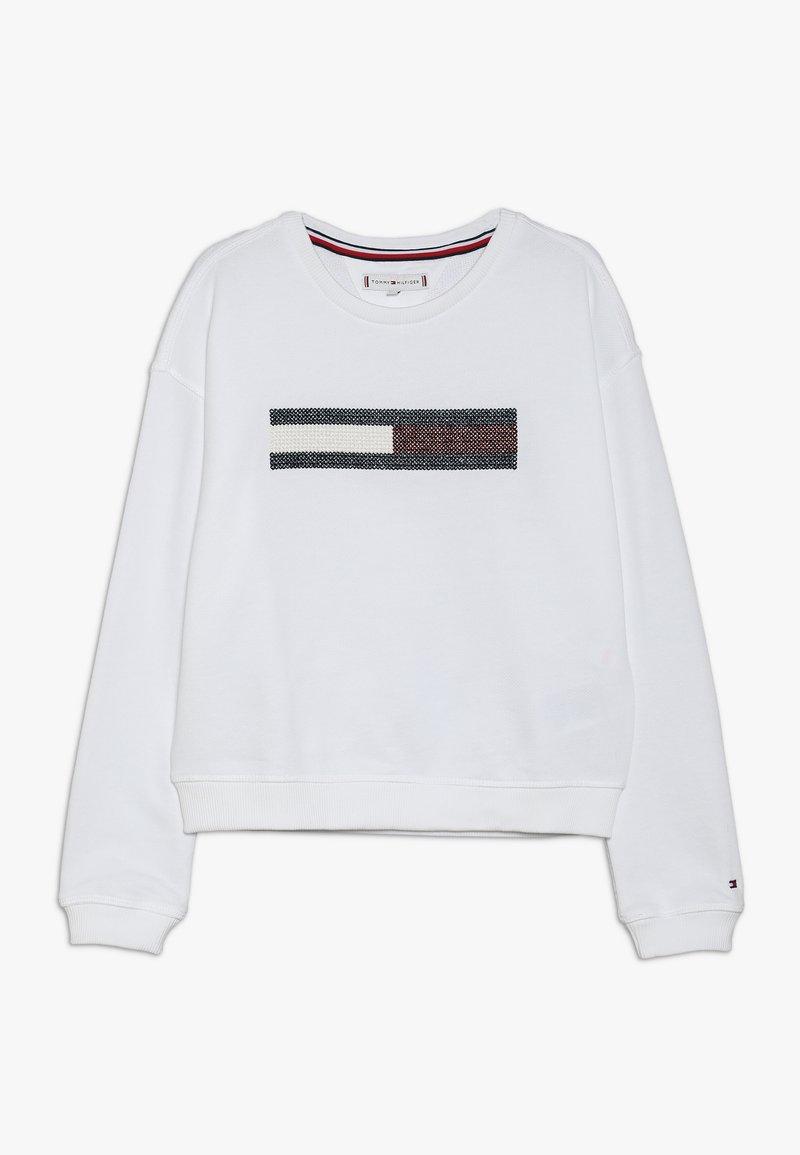 Tommy Hilfiger - FLAG SLOUCHY  - Sweatshirt - white