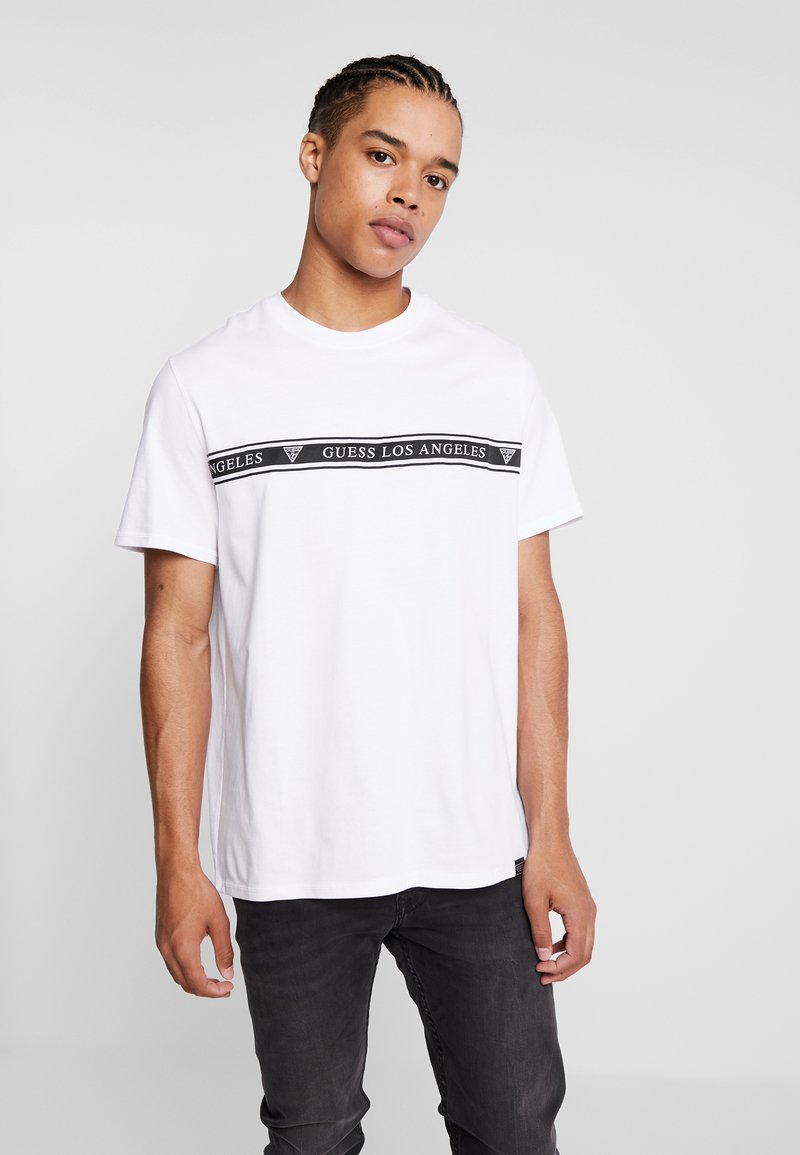 Guess - Print T-shirt - true white