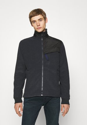 ZIP THROUGH UNISEX - Zip-up sweatshirt - dark blue