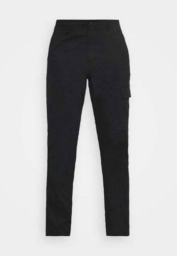 CLARKWALL PANT - Tygbyxor - black