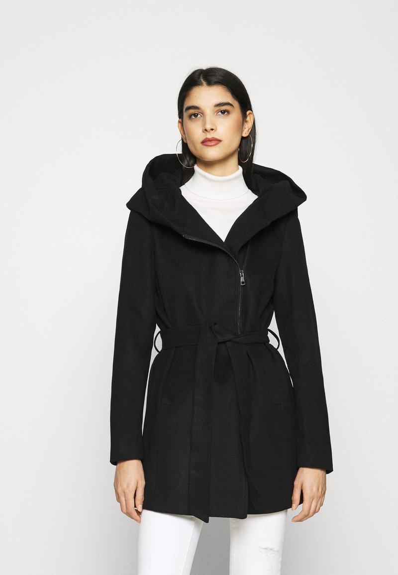 ONLY - ONLCANE COAT - Kurzmantel - black