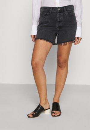 PARKER - Denim shorts - chromatic/washed black