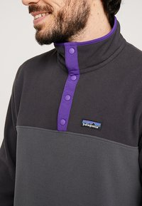 Patagonia - MICRO SNAP - Fleece jumper - forge grey - 5