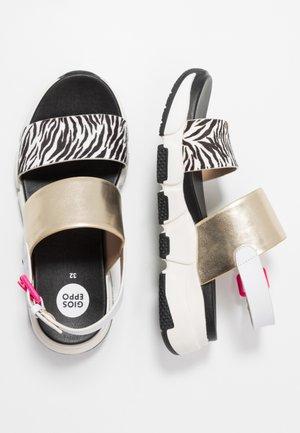 MIRAMARE - Sandals - gold