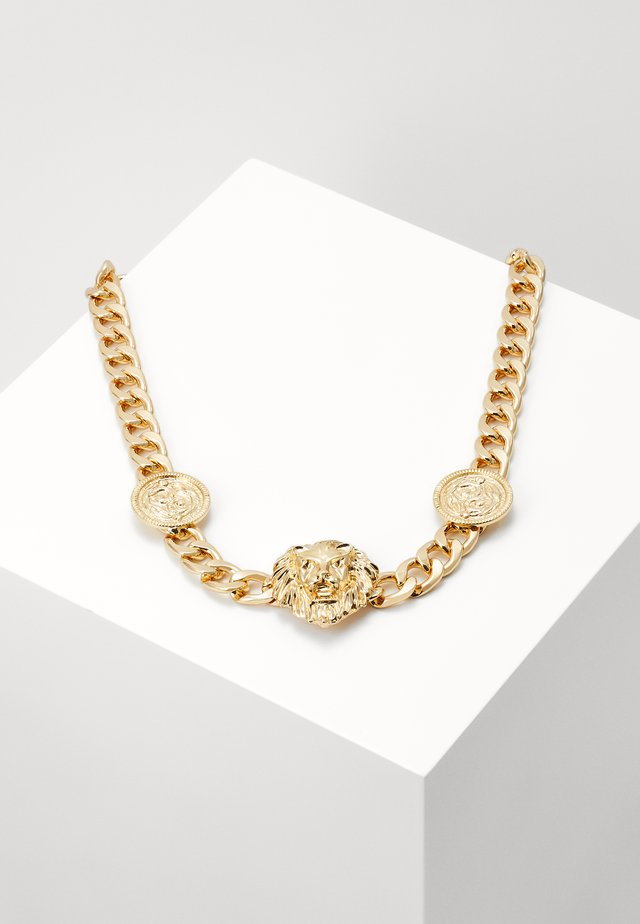 LION NECKLACE - Collier - gold-coloured