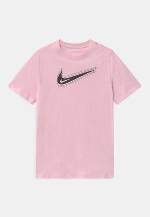 UNISEX - T-shirt print - pink foam