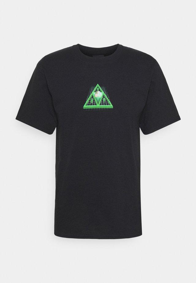 DIGITAL DREAM TEE - Print T-shirt - black