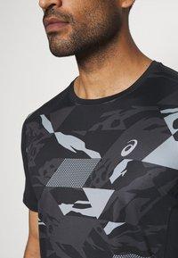 ASICS - FUTURE CAMO - Camiseta estampada - performance black - 4