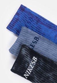 Nike SB - 3 PACK - Socks - grey/blue - 1