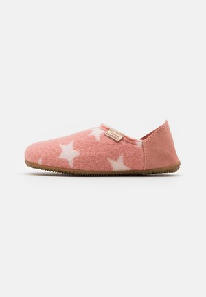 PANTOFFEL MIT STERNENWALK - Pantuflas - dark rose cloud