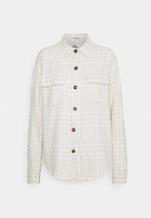 SHACKET - Summer jacket - white/tan