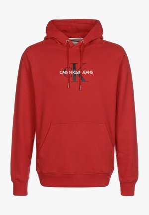 MONOGRAM - Sweat à capuche - racing red