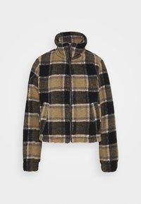 NMNICHELA JACKET - Winter jacket - black/grey