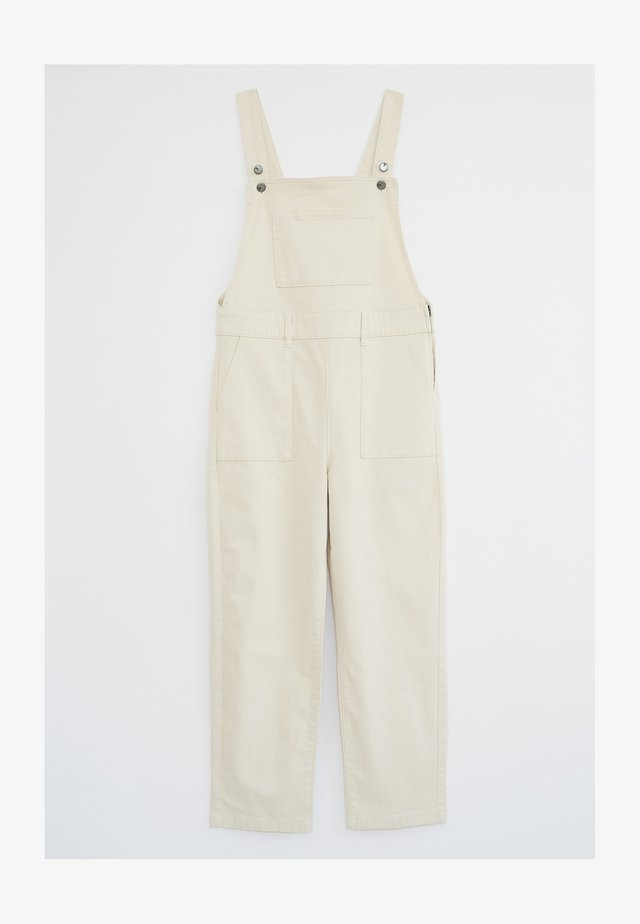DENBY  - Dungarees - natur hell