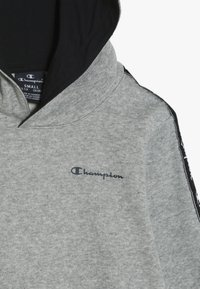Champion - AMERICAN CLASSICS PIPING HOODED  - Hoodie - mottled grey - 4