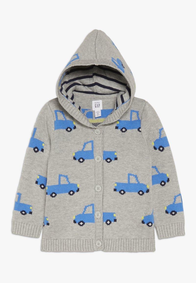 GAP - TRUCK GARTER BABY - Strickjacke - light heather grey