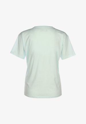 Print T-shirt - seaglass blue