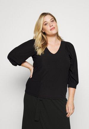 VMBOLETTA - Long sleeved top - black