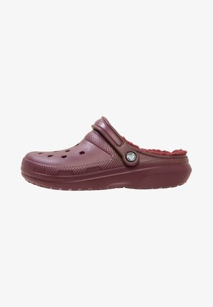 Pool slides - burgundy