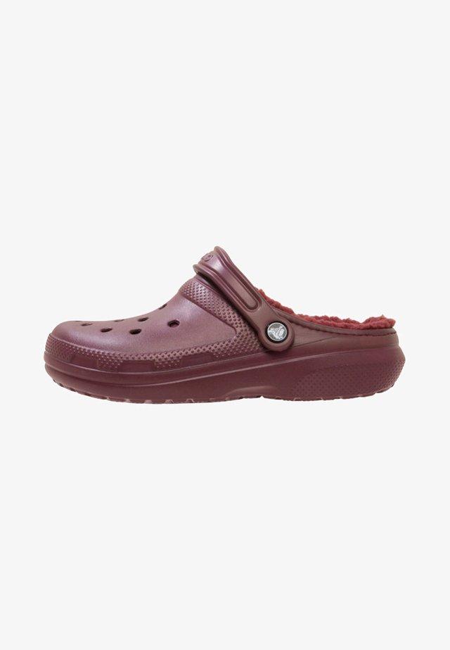 Sandali da bagno - burgundy
