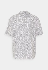 Calvin Klein - CUBAN COLLAR LOGO PRINT SHIRT - Shirt - white - 1