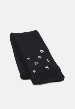 SCARF JEWEL DETAILS - Sjal - black
