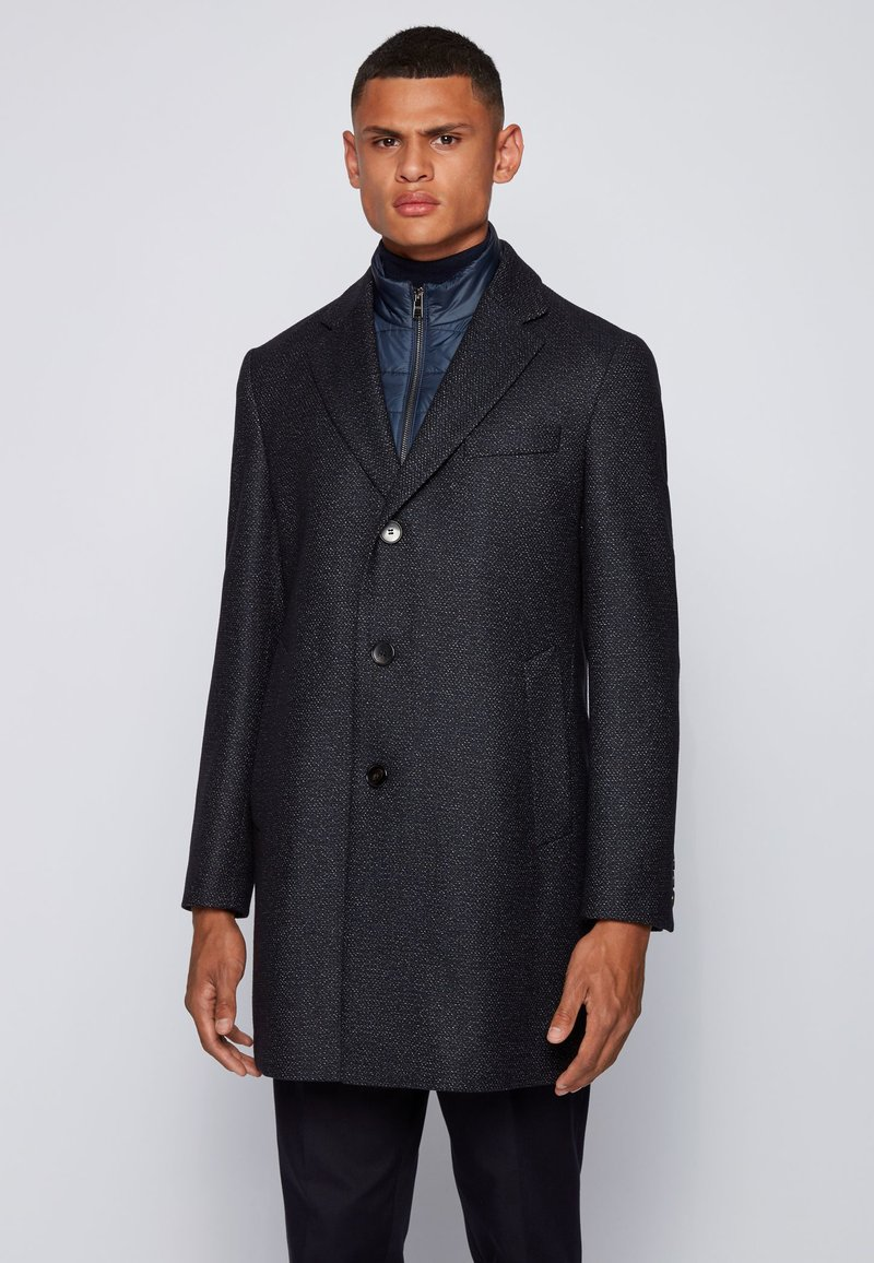 BOSS - Classic coat - dark blue